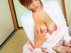 Fabulous Japanese girl Meguru Kosaka in Incredible JAV uncensored Hardcore video