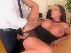 Horny pornstar Emma Butt in exotic big tits, brazilian sex clip
