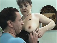 Mature European babe gets banged deep and hard by a young dick