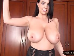 Ewa Sonnet gets imported for you - devilish mom with monster boobs