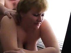 Fuck fat mature in the slot