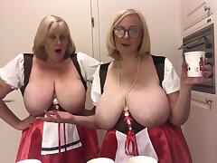 Oktoberfest - 2 Mr Big Topless Blondes