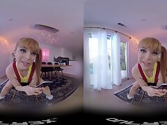 Homemade VR porn flick with redhead girlfriend Penny Pax. HD
