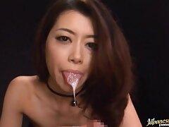 Amateur POV pellicle of a pretty Japanese girl sucking a stiff dick