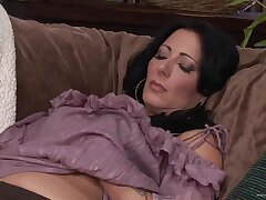 Number one wife Zoey Holloway moans during sex with her younger sweetheart