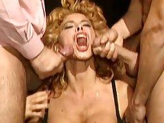 Milly d'Abraccio_Vintage italian Milf Imitate penetration compilation