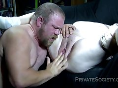 Ugly Supersized Big Beautiful Woman Inferior Porn Coupling In A Bj Increased by M - giving head