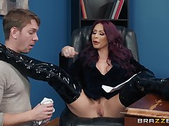 doggy style on the gaming-table is something that Monique Alexander can't plunge