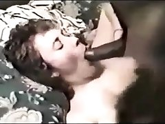 Stockings mature amulet hoe sucks on black interracial gumshoe