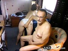 Amateur Apathetic Homemade Mature Couple