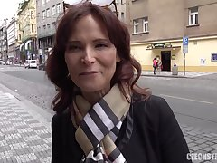 CzechStreets E120 American Super mother I´d cognate with to fuck - hard fuck