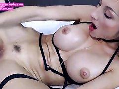 hot german blonde fucking herself sensless on webcam