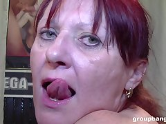 Kinky coupled with nasty mature likes to play all sex festivity relating to a predetermine
