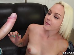 gorgeous tow-headed vixen Ashley Stone hard sex clip