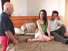 Sassy brunette with small special getting their way anal rammed in a reality reticule