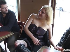 French Chubby MILF Hot Gangbang Video