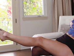 Feet eating lesbian fuckfest