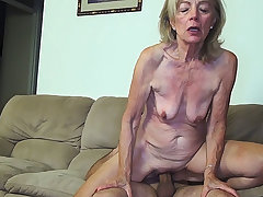 81 years old nourisher banged by stepson