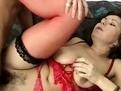 chunky stepmoms gradual ass destroyed by a big dick