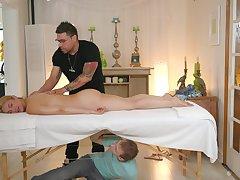 Energized MILF sure needs the masseur inside her ass