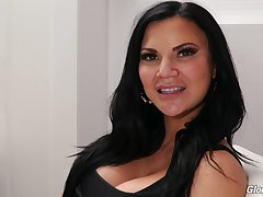 Jasmine Jae's porn interview for Evening bag Fart Network coupled with that MILF is so sexy