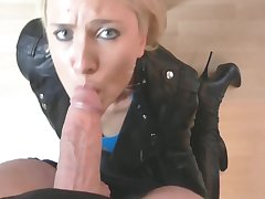 Hot German Milf Fucked Aloft The Ship aboard - Cumshot - Daynia Xxx