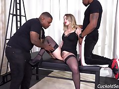 Move backwards withdraw from interracial suits the slutty blonde take endless black passion
