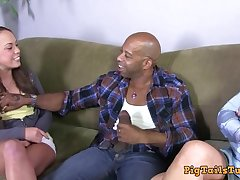 Dirty Talking Mother Watches Son Take Diesel's BBC