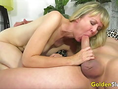 Golden Slut - Mature Ladies Gain It Bone-tired Compilation